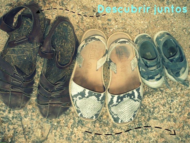 familia de zapatos