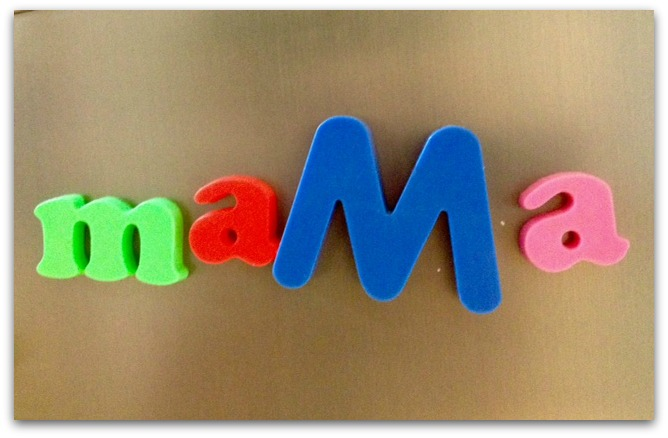 escrito mama