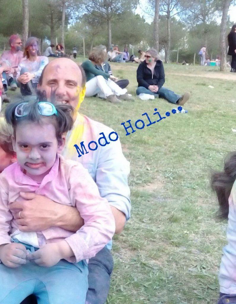 Diona gonzález, psicología infantil, holi festival