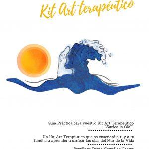 Kit Art terapéutico «Surfea la Ola» (a partir de 4 años)