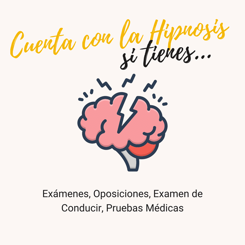 hipnosis para exámenes, oposiciones y pruebas médicas